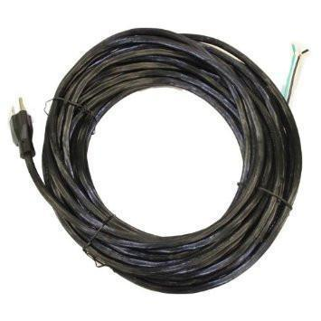 50ft Sanitaire 3 Wire Power Cord Black - PTS