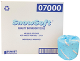 Snowsoft™ Standard Toilet Paper, 2 ply, 48x420 Sheets (07000)