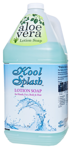 Kool Splash® Aloe Vera Lotion Soap  4L - #7100-1