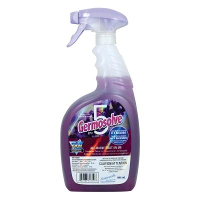 Germosolve 5 Disinfectant Lavender 32350 - 946mL (Kills 99.9% of virus and bacteria in 5 seconds!)