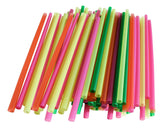 Touch® 4'' Cocktail Straws Assorted Colours 9 x 500/CS