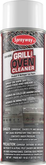 SW Grill & Oven Cleaner 18oz
