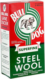 Bull Dog Steel Wool 6 Roll Package - SUPERFINE