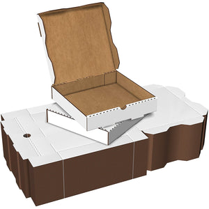"White Pizza Box 13""x13""x2"" - 50/PK"