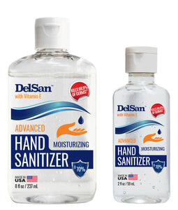 DelSan™ Advanced Hand Sanitizer & Moisturizer W/ Vitamin E