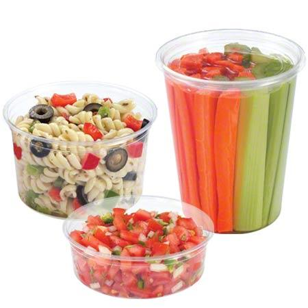 8oz Deli Container Clear 500/CS