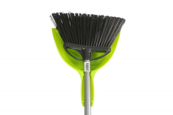 Globe® Large Angle Broom With Pan