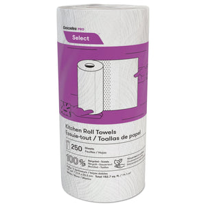 Cascades PRO Select™ Jumbo Kitchen Roll Towels 2-ply 12x250 Sheets (K250)