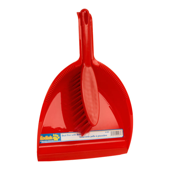 Kodiak Dust Pan With Brush Assorted Colors