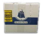 "26""x36"" Industrial Strong Clear Garbage/Trash Bags - 200/CS"