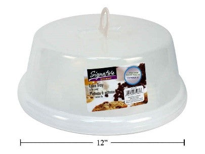 SiG.Kit Cake Tray w/Cover,12 x 5