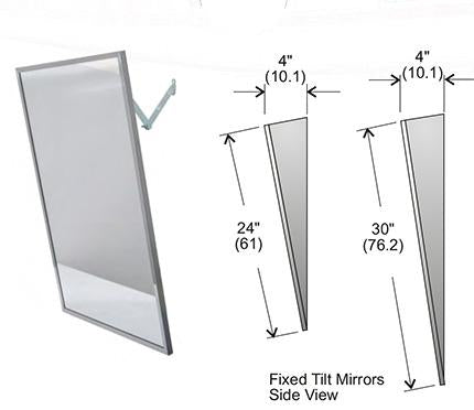 Frost Adjustable Tilt Handicap Mirror 16''x30''