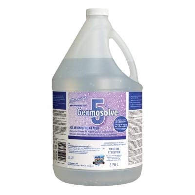 Germosolve 5 Disinfectant Natural 32356 - 4L (Kills 99.9% of virus and bacteria in 5 seconds!)