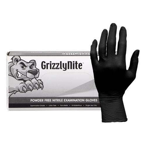 Black Nitrile Glove X-Large 100/pkg