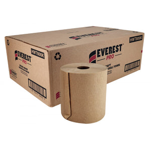 Everest PRO™ Kraft Hand Paper Towel, 6 Rolls x 800' (HWT800K)