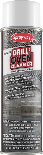 SW Grill & Oven Cleaner 18oz 12/CS