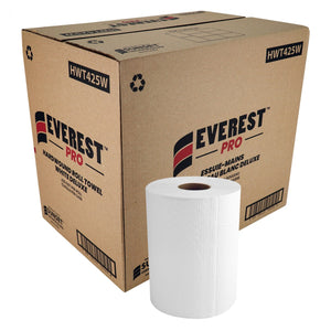 Everest PRO™ White Hand Paper Towel, 12 Rolls x 425' (HWT425W)