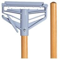 M2 60'' Wood Mop Handle