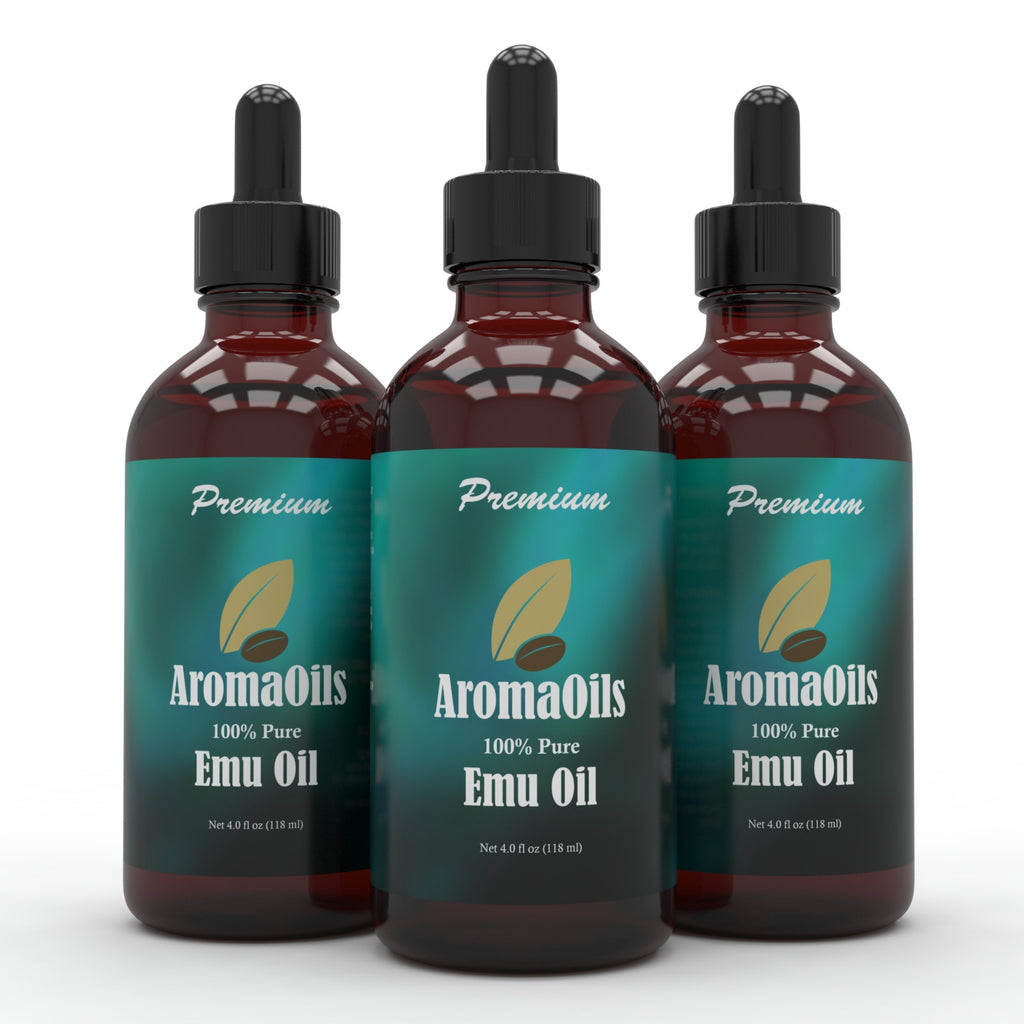 Emu Oil - 100% Pure Refined - 4 oz