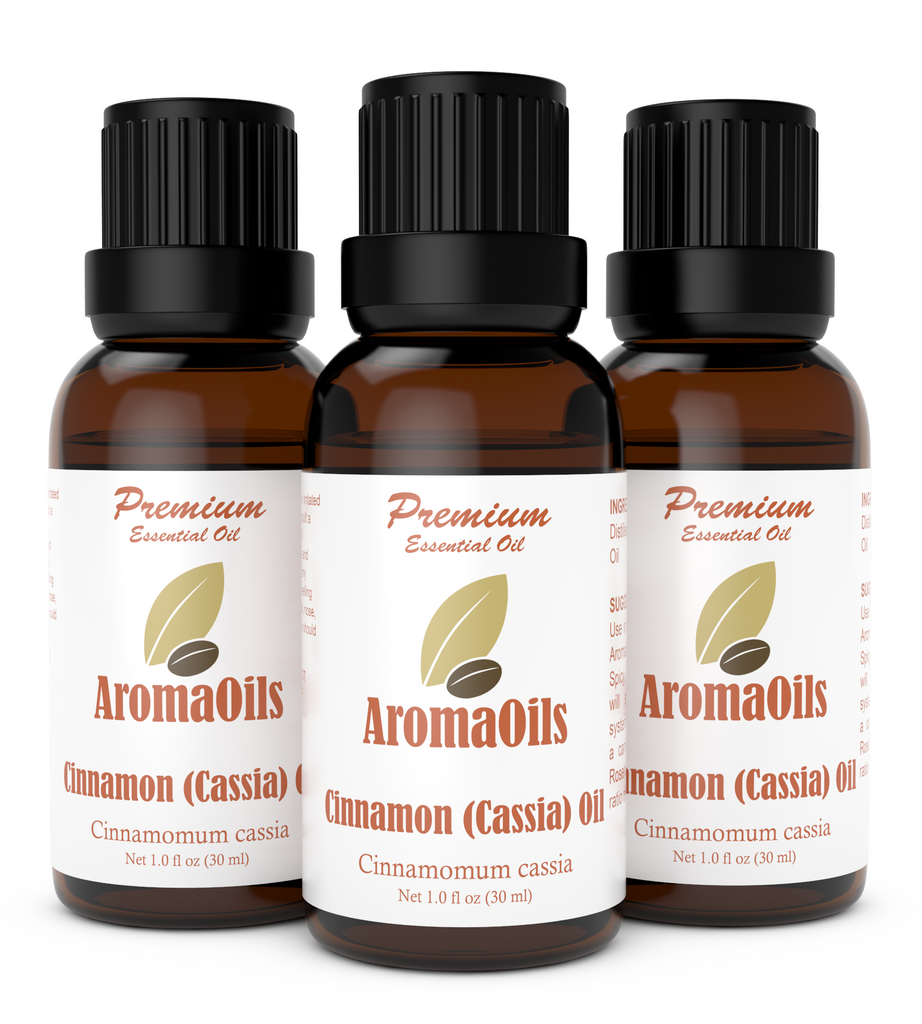 Cinnamon (Cassia) Essential Oil - 100% Pure
