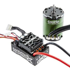 010-0155-01 - Castle Creations Mamba X Sensored 25.2V WP ESC + 1406-4600KV-Castle Creations-CKRC Hobbies