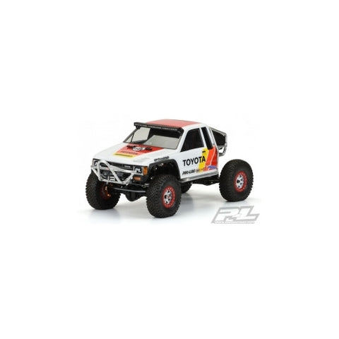 "PRO3466-01 - Proline 1985 Toyota HiLux SR5 Clear Body (Cab Only) for SCX10 Trail Honcho 12.3"" (313mm) Wheelbase"