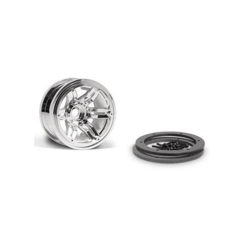 AX8092 - Axial 2.2 Rocksters Beadlock Chrome