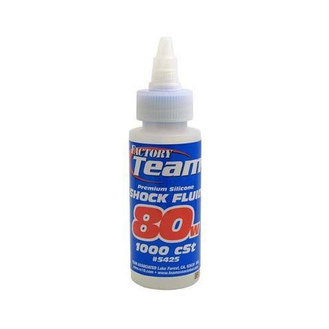 ASC5425 - Team Associated Silicone Shock Fluid 80 Weight 2 oz