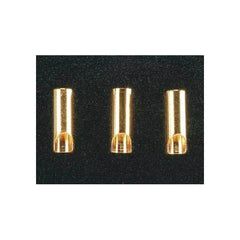 GPMM3113 - Great Planes Gold Plated Bullet Connector Female 3.5mm (3)-Great Planes-CKRC Hobbies