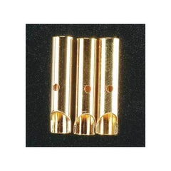 GPMM3115 - Great Planes Gold Plated Bullet Connector Female 4mm (3)-Great Planes-CKRC Hobbies