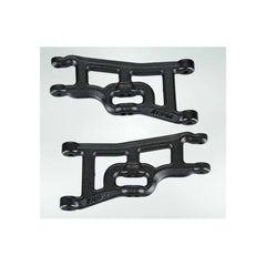 RPM80242 - RPM Front A-Arms Black Slash 2wd Rustler Stampede Nitro Slash (2)-RPM-CKRC Hobbies