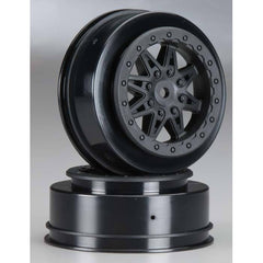 AX08104 - Axial 2.2 : 3.0 Raceline Renegade Wheels 34mm Black (2)-Axial-CKRC Hobbies