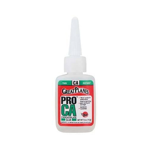 GPMR6001 -  Great Planes Pro CA Glue .5 oz Thin