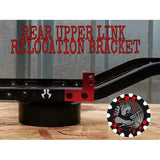 CBE01 - CBE RC FAB Axial SCX10 REAR UPPER LINK RELOCATION BRACKETS
