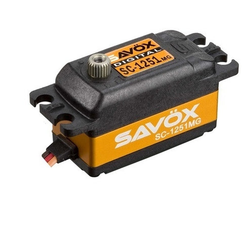 SC-1251MG - Savox SC-1251MG Low Profile High Speed Metal Gear Digital Servo