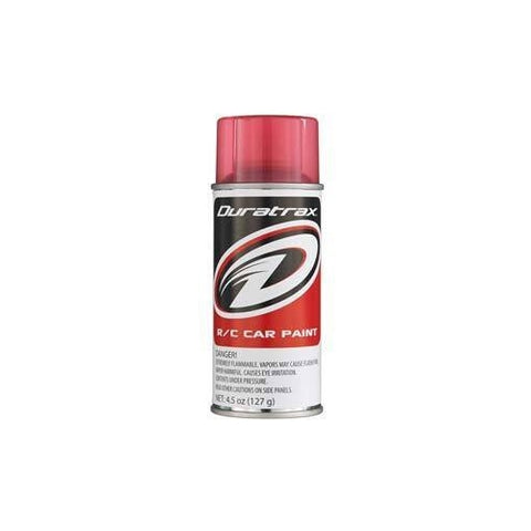 DTXR4271 - Duratrax Candy Red Poly Carb Spray Paint