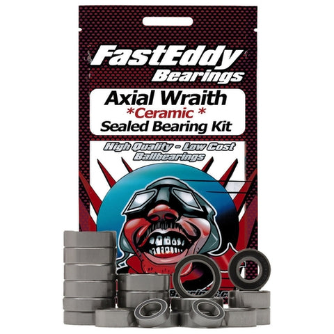 FEBWRA1 - Fast Eddy Bearings Axial Wraith Ceramic Sealed Bearing Kit