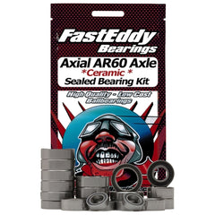 FEBAR60CER - Fast Eddy Axial Wraith AR60 Axle Ceramic Sealed Bearing Kit (Single Axle Set)-Fast Eddy-CKRC Hobbies