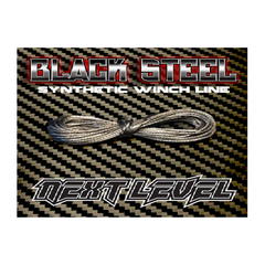 NLWLB - Next Level Synthetic Winch Line Black Steel-Next Level-CKRC Hobbies