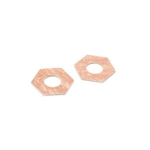 AX31068 - Axial Slipper Pads for Dual Slipper Clutch 32.8x15.2x1mm