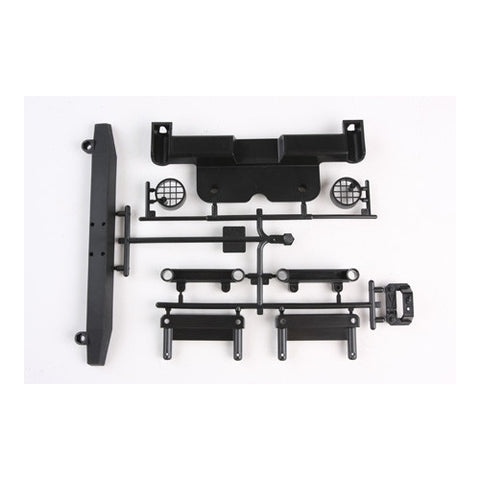 TAM9115239 - Tamiya Jeep Rear Bumper Parts Tree