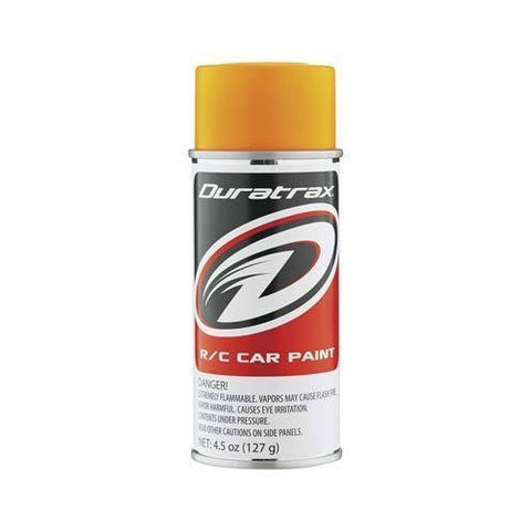 DTXR4283 - Duratrax Bright Orange Flourescent  Poly Carb Spray Paint (4.5oz)
