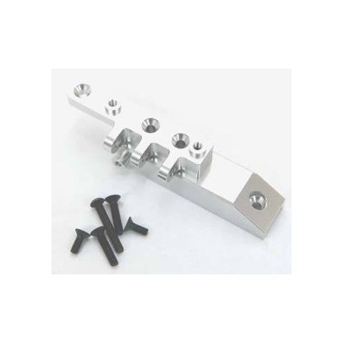 STA80072FS - STRC Machined HD Alum Axial Wraith Front Upper Link Servo Mount Silver