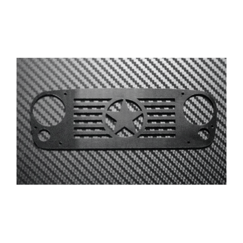 Next Level Black Delrin Star Grill Armor For Axial JK Unlimited or G6