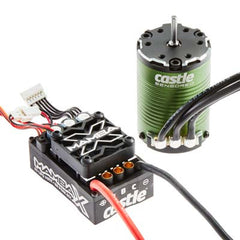 CSE010-0161-00 - Castle Creations Mamba X SCT Pro ESC/1410-3800kV Motor-Castle Creations-CKRC Hobbies