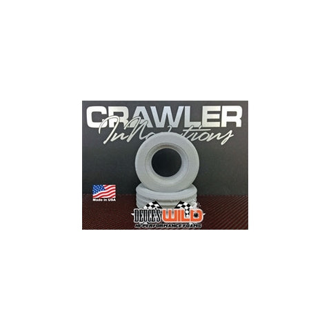 CWR-3004 - Crawler Innovations Deuces Wild Single Stage 1.9 Pitbull Mad Beast Foam Pair (2)