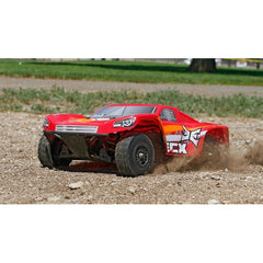 ECX01001T2 - ECX 1/18 Torment 4WD Short Course Truck RTR, Red/Orange-ECX-CKRC Hobbies