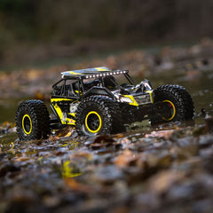 LOS03009T1 - Losi 1/10 Rock Rey 4WD RTR with AVC, Yellow-Horizon Hobbies-CKRC Hobbies
