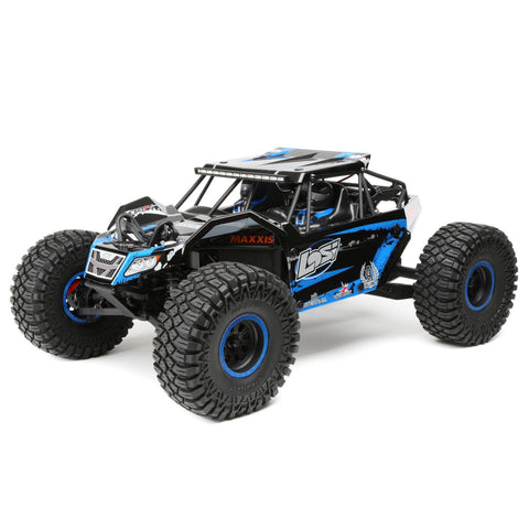 LOS03009T2 - Losi 1/10 Rock Rey 4WD RTR with AVC, Blue