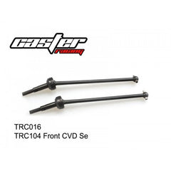 TRC016 Front CVD Axle Set Caster Racing-Caster Racing-CKRC Hobbies